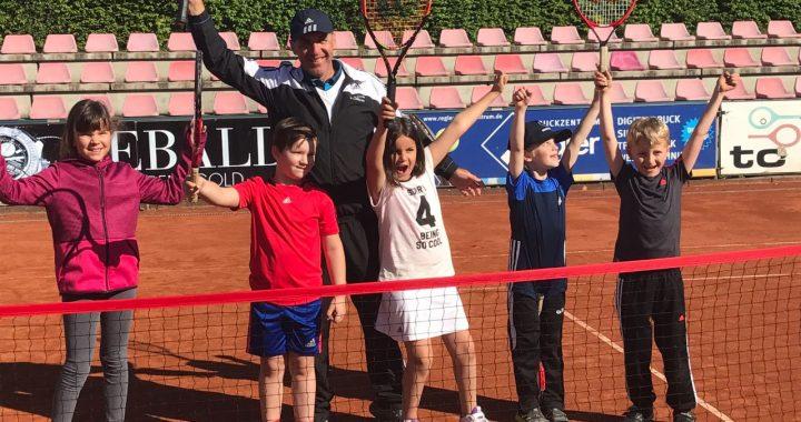 Erstes Tennisturnier - Tennis Academy Marcelo Matteucci