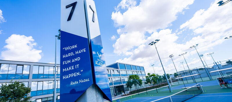 "LK Tenniscamp ""Intensivo"" in Rafa Nadal Sports Residence in Mallorca"